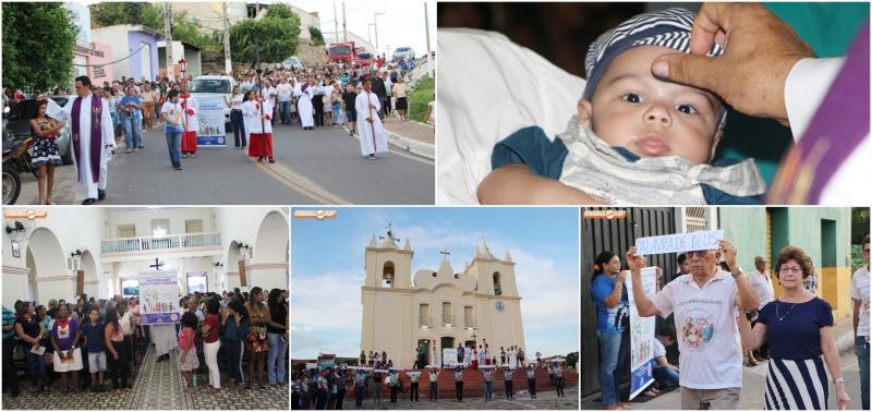 Paróquia celebra quarta-feira de cinzas e lança Campanha da Fraternidade