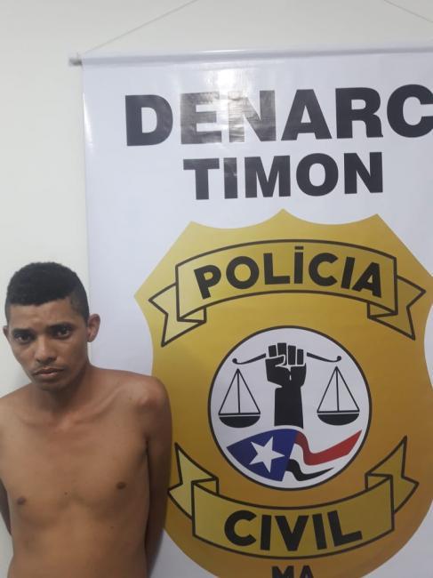 DENARC/Timon prende em flagrante homem acusado de traficar 'Skank'