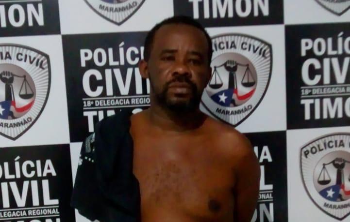 GPE-18/Timon cumpre mandado e prende 'Nêgo Pão'