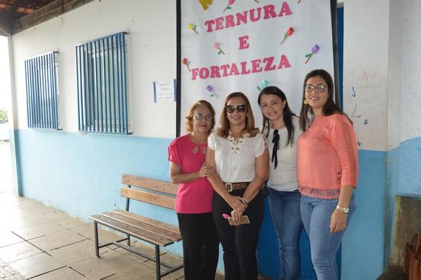 Guadalupe - CEDEG reúne alunos e faz singela homenagem as Mulheres