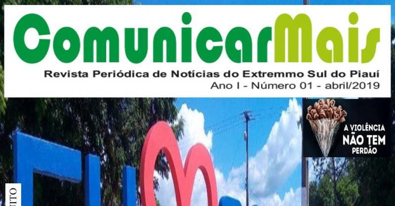 Revista Comunicar Mais será lançada em Santa Filomena e Alto Parnaíba