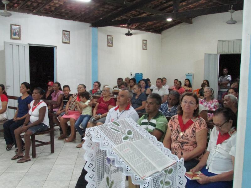 Missa marca abertura dos festejos de São José na comunidade Baixão do coco