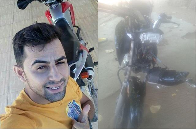 Jovem morre após perder controle e cair de moto no Piauí