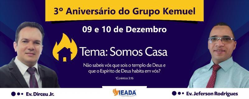 3° Aniversário do Grupo Kemuel