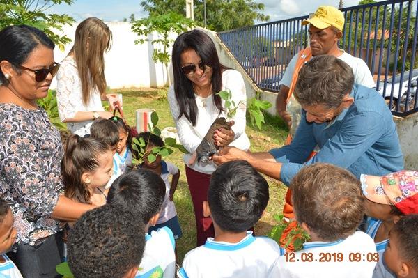 Lançamento do projeto de arborização de Colônia do Gurgueia