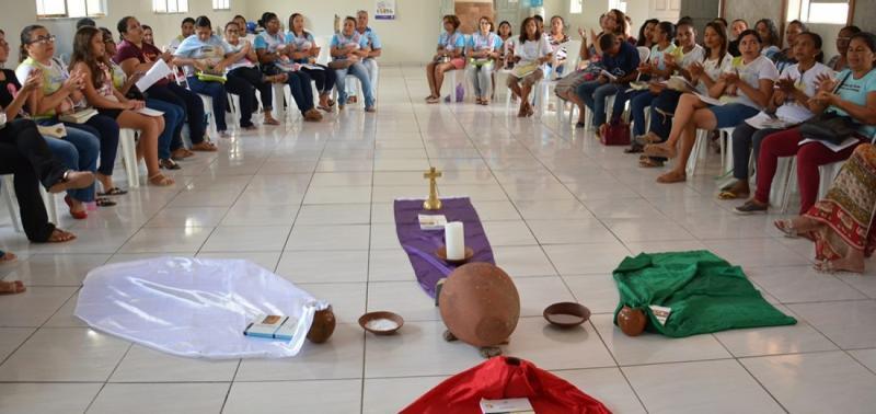 Paróquia de N. S das Mercês promoveu formação para catequistas