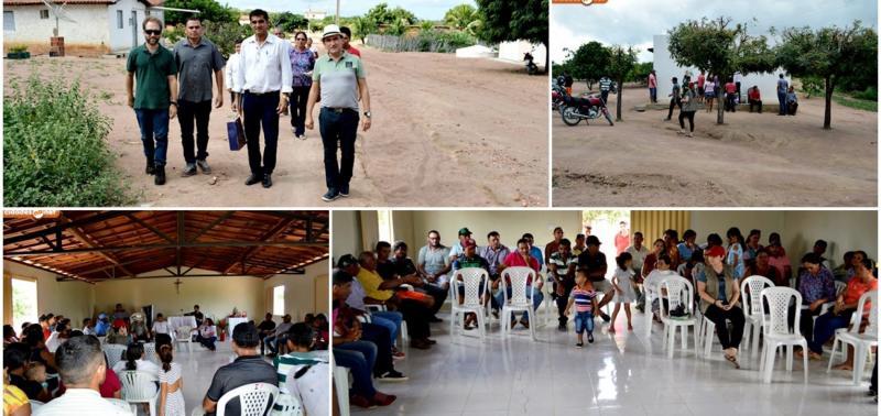 Moradores de povoado e governo se reúnem para discutir sobre projetos