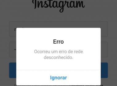 Instagram, Facebook e WhatsApp sofrem instabilidade