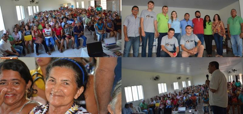 230 famílias são capacitadas para receberem cisternas em Jaicós