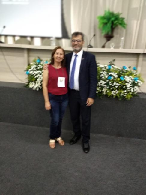Secretária de Educação de Olho D'água participa de fórum da UNDIME