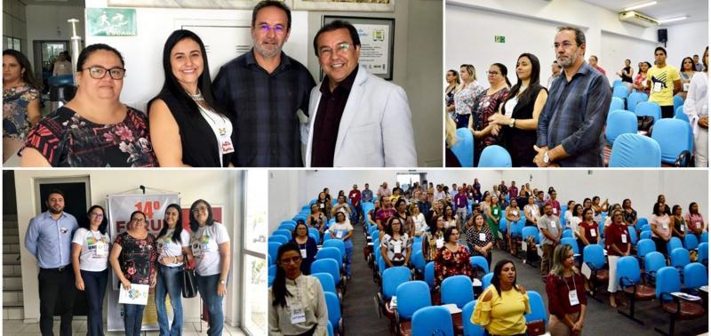 Prefeito e gestoras da Educação participam do 14° Fórum da UNDIME-PI