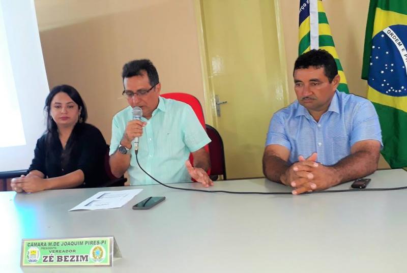 Prefeitura de Joaquim Pires realiza audiência pública