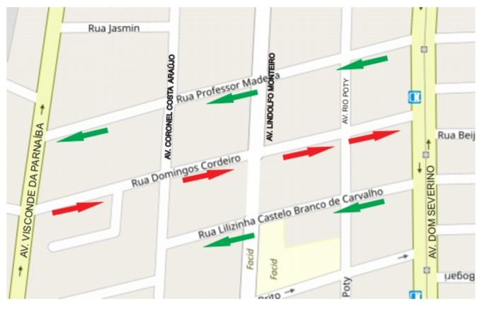 Strans fará mudanças no trânsito e na sinalização de Teresina no sábado