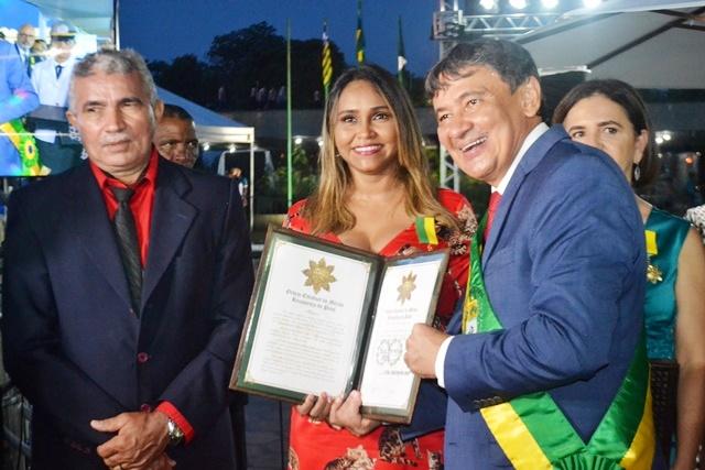 Homenageados recebem honrarias na comemoração alusiva a Batalha do Jenipapo