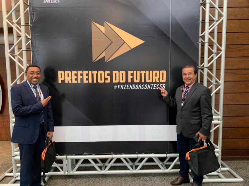 """Joel Rodrigues participa do """"Prefeitos do Futuro 2019"""" em Brasília"""