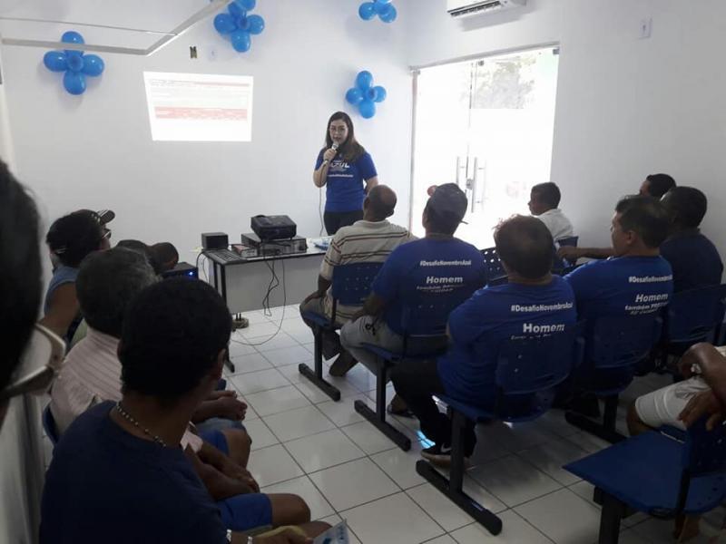 Prefeitura de Nazária realizou atividades alusivas ao Novembro Azul
