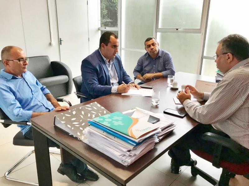 Prefeito de Jaicós reivindica recursos para o Hospital Florisa Silva