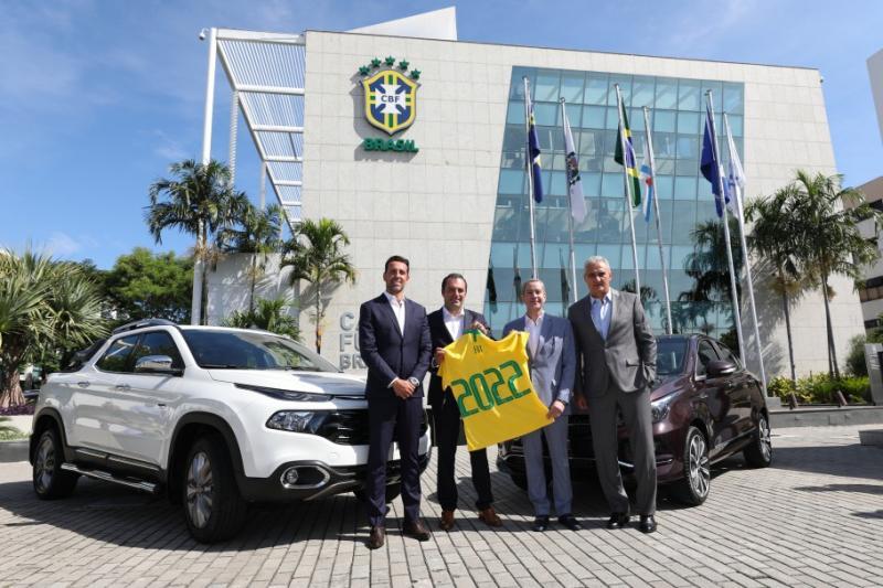 Confederação Brasileira de Futebol fecha acordo com novo patrocinador