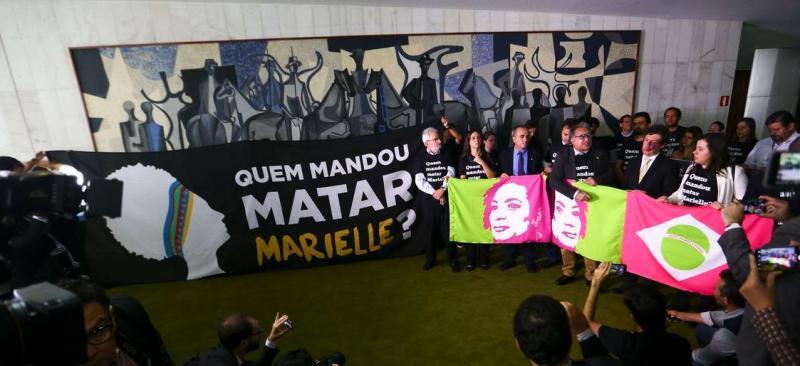 Ato na Câmara lembra um ano do assassinato da vereadora Marielle