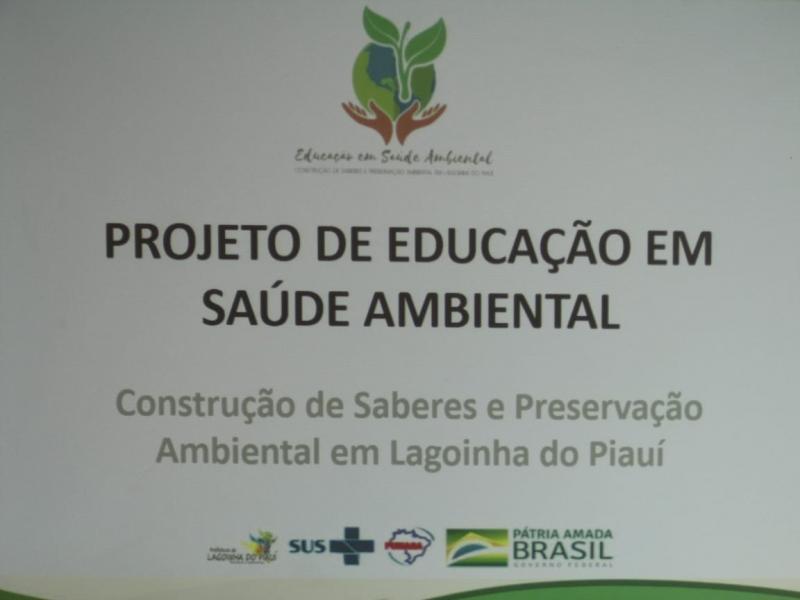 Prefeitura lança Projeto de Educação em Saúde Ambiental em Lagoinha