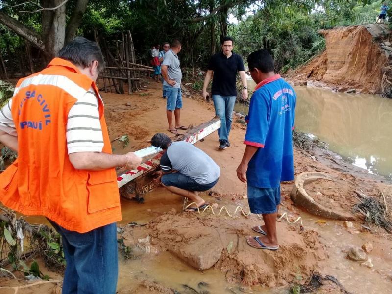 Defesa Civil intensifica monitoramento após chuvas em Teresina