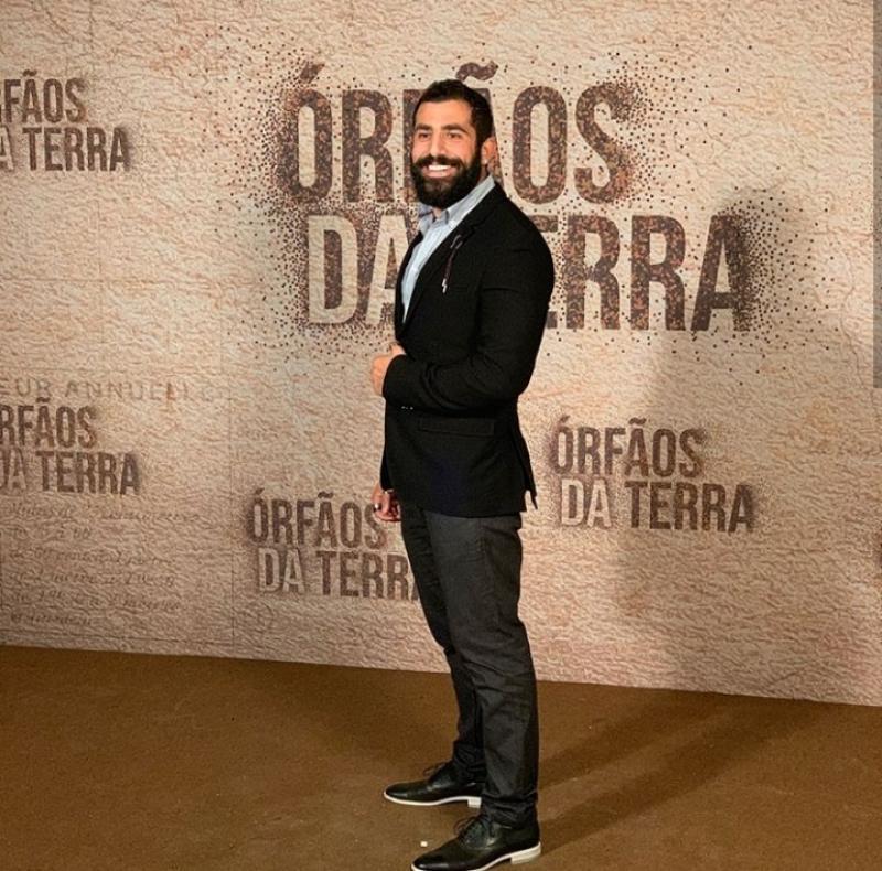 Kaysar comemora sua participação em novela da Globo