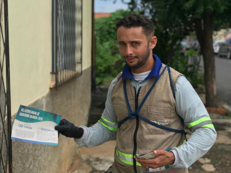 Relatório comprova qualidade da água distribuída em Timon