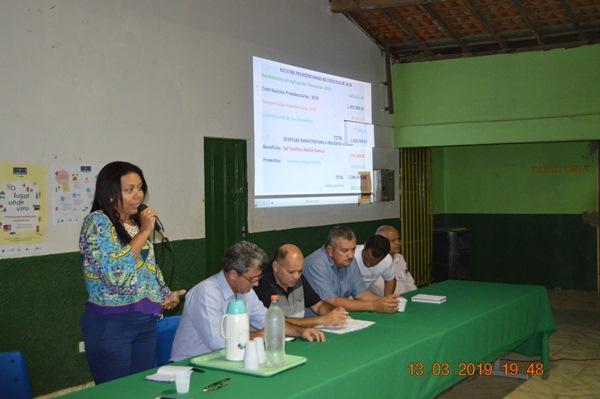 Prefeita Doquinha está preocupada com o Fundo Previdenciário do município