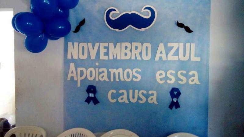 Secretaria de Saúde de Amarante realiza atividades em alusão ao Novembro Azul