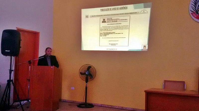 Audiência pública aborda prestação de contas da Prefeitura de Amarante