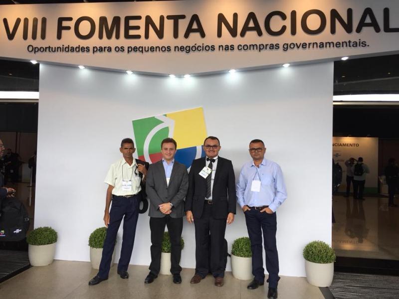 Prefeito Júnior Bill participa da VIII FOMENTA NACIONAL em Brasília