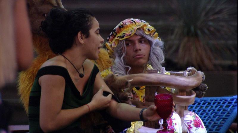 BBB19: Danrley especula Anjo para Elana