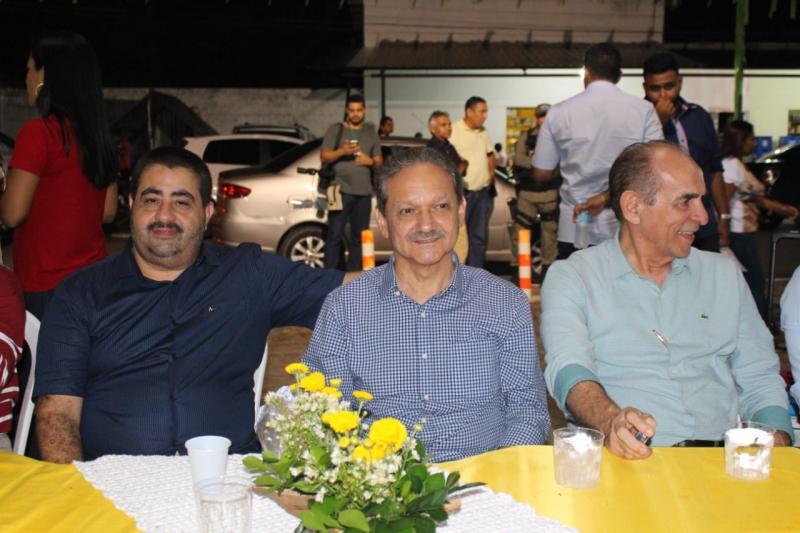 Autoridades se reuniram nos festejos de Lagoa do Piauí