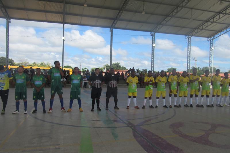 Confira como foi a abertura da Copa Cocais de futsal em São João do Arraial