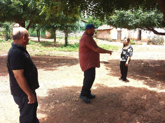Prefeita Vilma Lima planeja construir espaço de lazer em comunidades rurais