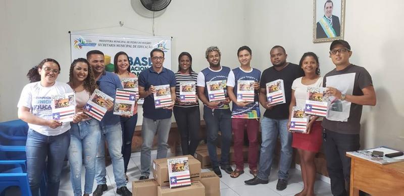 Pedro do Rosário recebe Documento Curricular do Território Maranhense