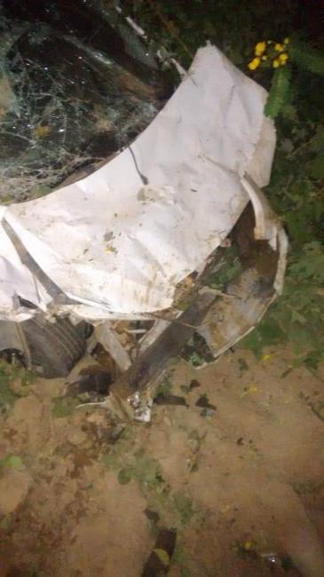 Prefeito colide veículo contra motocicleta no interior do Piauí