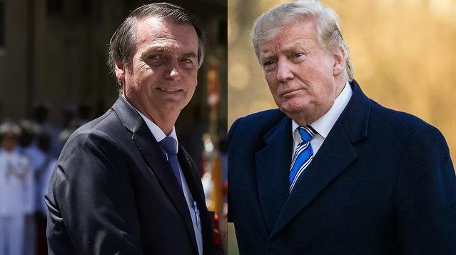 No 3º dia da visita aos EUA, Bolsonaro será recebido por Trump