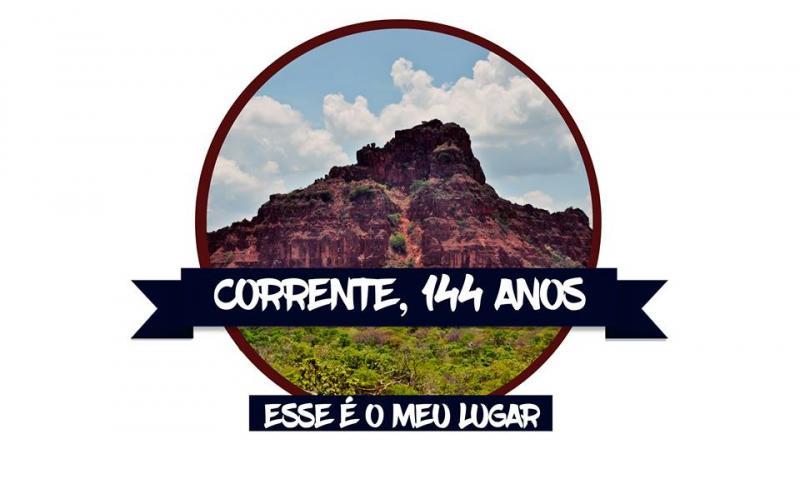 Prefeitura divulga programação do aniversário de 144 anos de Corrente