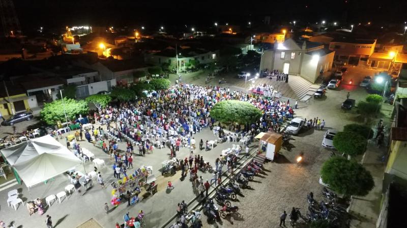 Comunidade celebra a 9ª noite de missa e novena do festejo de São José