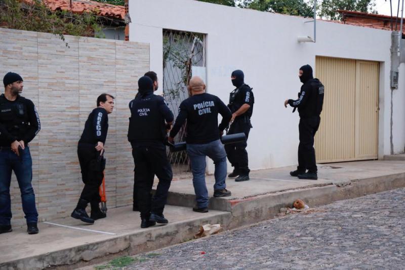 Polícia Civil do Piauí prende quadrilha de roubo a bancos