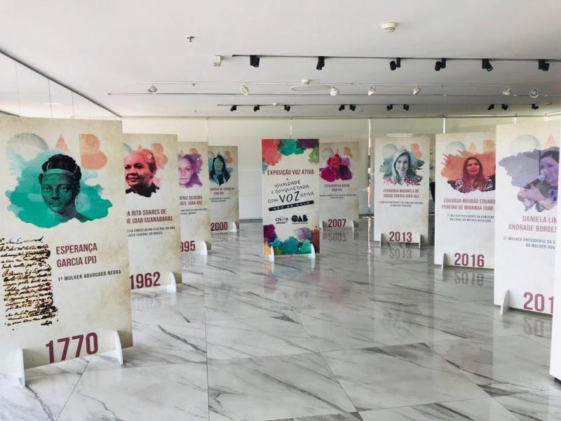 Conselho Federal da OAB inaugura homenagem às mulheres da advocacia