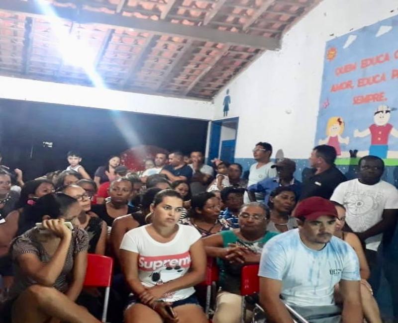 NASF participou de reunião de pais e mestres de Escola Municipal