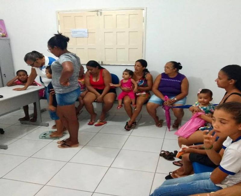 Realizada Avaliação Nutricional para o Cadastro do Bolsa Família