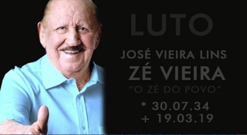 Aos 84 anos, morre Zé Vieira,  figura icônica da política maranhense