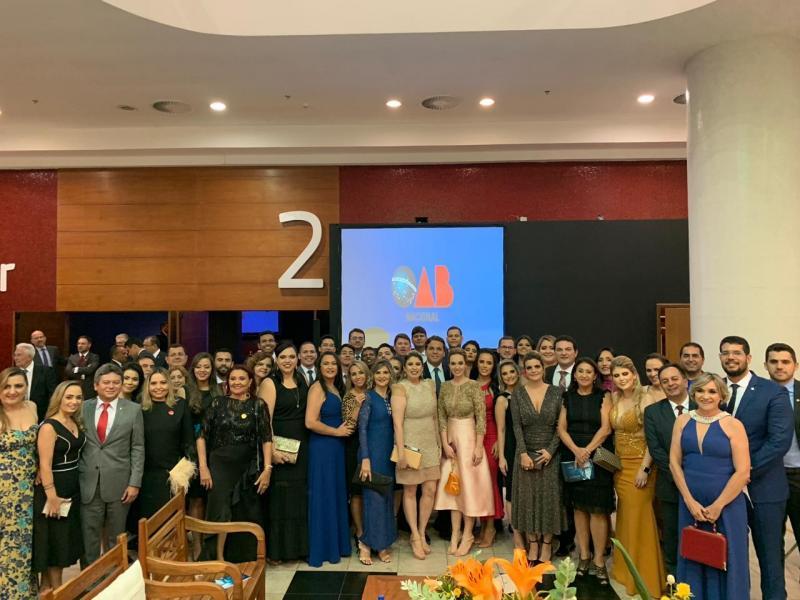 CFOAB empossa nova diretoria com a  presença da delegação piauiense