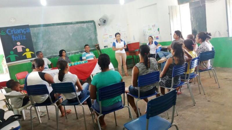 Assistência Social lança Programa Criança Feliz no Povoado Matas