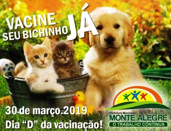 Secretaria Mun. de Saúde de Monte Alegre-PI, lança campanha de vacinação