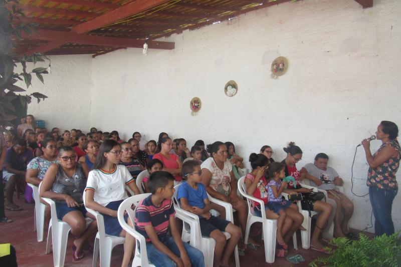 Prefeitura reúne responsáveis por crianças para tratar sobre Pelotão Mirim