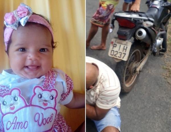 Acidente mata bebê de quatro meses no interior do Piauí